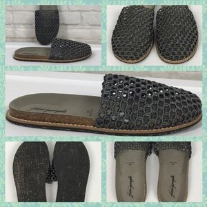 New Free People FP Mules Flats Sandals Slides 9 40